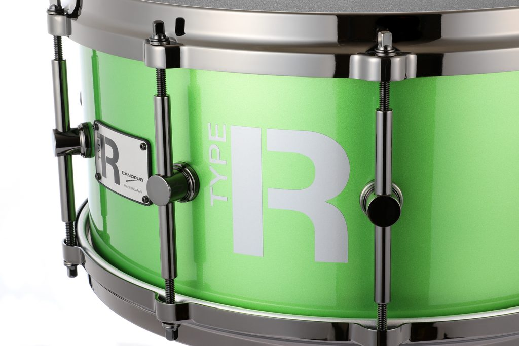 Type-R Maple 10ply BULLET Lush  Metallic Lacquer